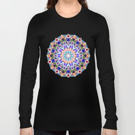 Mandala illustration Long Sleeve T-shirt
