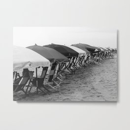 Antique Beach Metal Print
