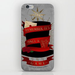 Remember, It's Only A Game | Caraval iPhone Skin
