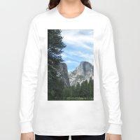 yosemite Long Sleeve T-shirts featuring Yosemite by Angela McCall