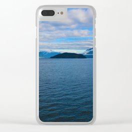 Leaving Horseshoe Bay in Vancouver, BC Canada Clear iPhone Case