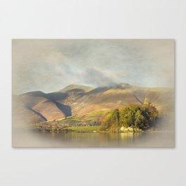 Skiddaw Impressions 2 Canvas Print