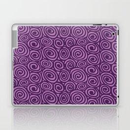 Spiral planet Laptop & iPad Skin