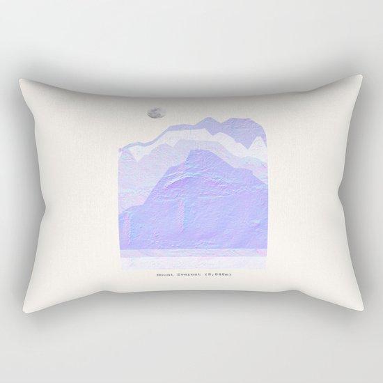 Mount Everest Rectangular Pillow