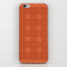 Op Art 18 - Coral iPhone Skin