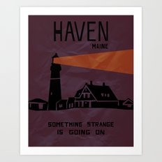 Haven Tourism Board Art Print