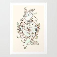 The Time We Have Art Print
