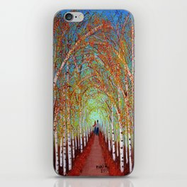 Autumn Birch  iPhone Skin