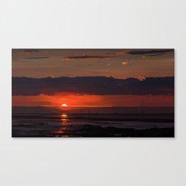 Sunset series Canvas Print