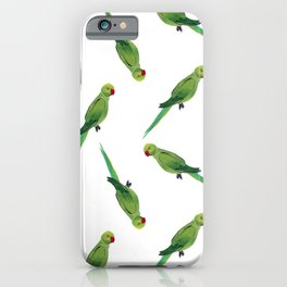 Indian Parrot iPhone Case