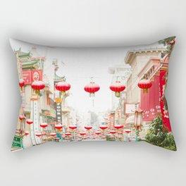 Chinatown Rectangular Pillow