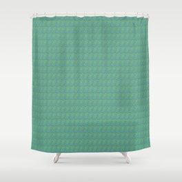 Extropix Esmeralda Tropical Pattern Shower Curtain