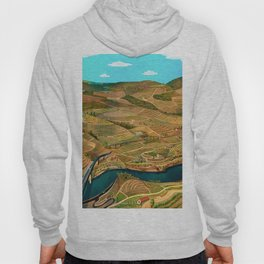 Douro Valley Portugal Hoody