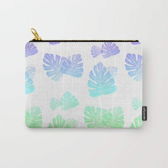 Tropical Cascade Carry-All Pouch