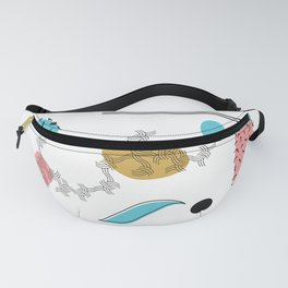 Pattern & Shape Abstraction 2 Fanny Pack