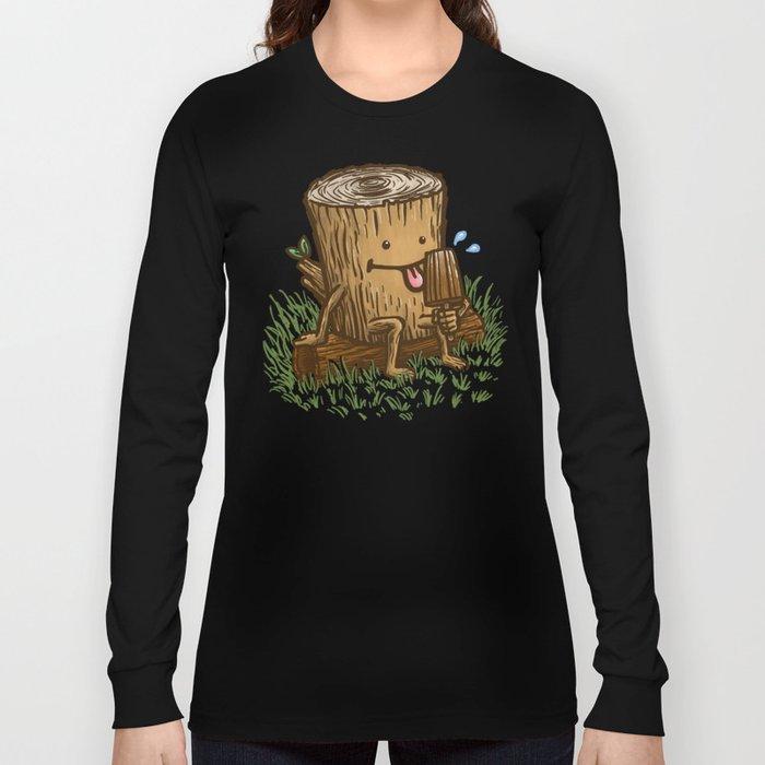 The Popsicle Log Long Sleeve T-shirt
