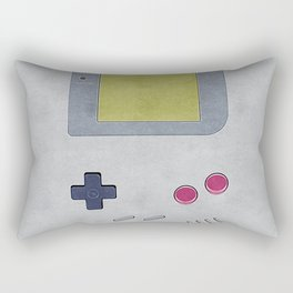 Vintage GameBoy 1989 Rectangular Pillow