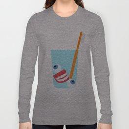 Tooth Brush Long Sleeve T-shirt