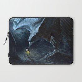 Eagle and tit bird Laptop Sleeve