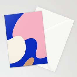 Modern Abstract Art Stationery Cards