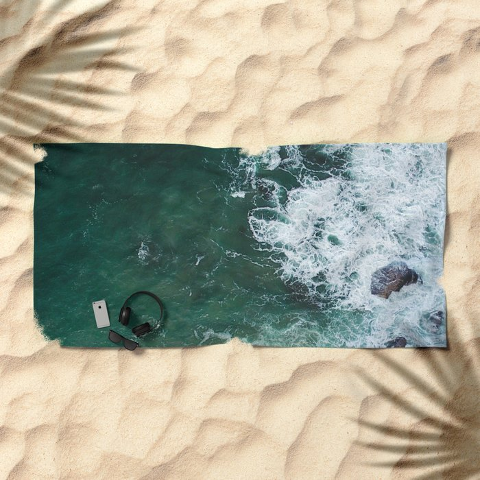 Cliff 5 Beach Towel