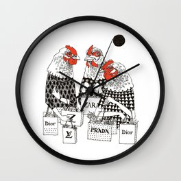 chicks Wall Clock