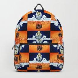 Duality: Angel/Devil Tiling (Color) Backpack