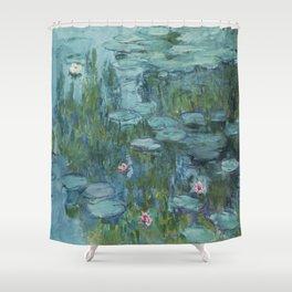 Nympheas, Claude Monet Shower Curtain