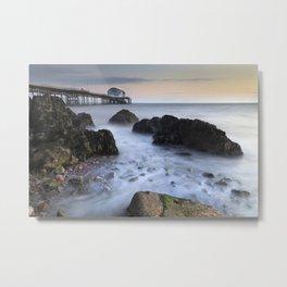 Mumbles pier at daybreak Metal Print