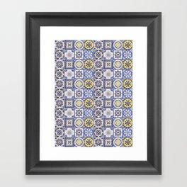 Talavera Ceramics Framed Art Print