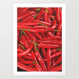 Chilies Art Print