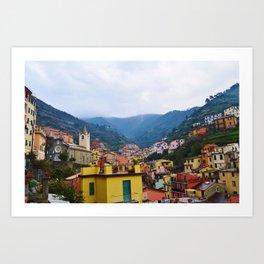 Beautiful Riomaggiore, Italy Art Print