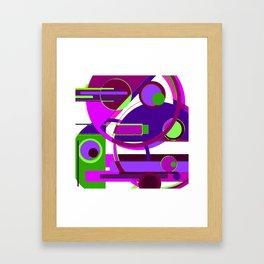 Melange Framed Art Print