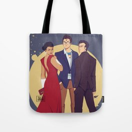 JLA Trinity Tote Bag