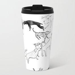 Dogs say Hello Travel Mug