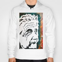 einstein Hoodies featuring Einstein by kingtattoo