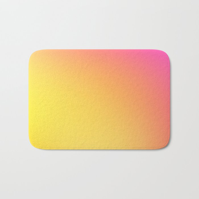 PEACH / Plain Soft Mood Color Blends / iPhone Case Bath Mat