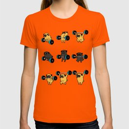 OLYMPIC LIFTING PUGS T-shirt