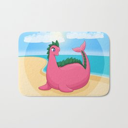 Serendipity the Pink Dinosaur Bath Mat