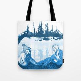 Winter Dreams Artwork Tote Bag