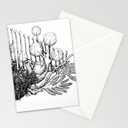 sea plants Stationery Cards