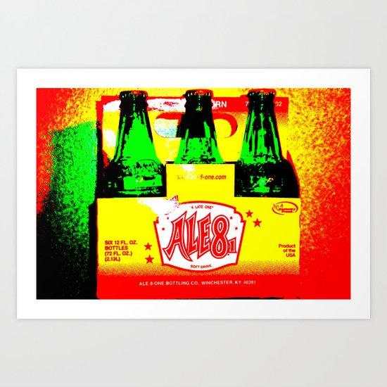 Ale-8-One (6 Pack) Art Print