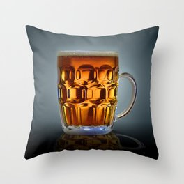 In Search Of The Holy Ale. Throw Pillow
