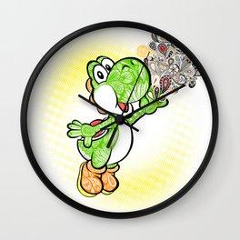 Yoshi Wonderland !  Wall Clock