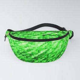Green Pixel Wind Fanny Pack