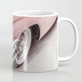 Blush Pink Vintage Car Coffee Mug