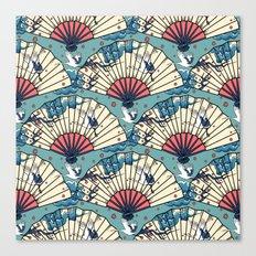 Oriental FanTasy Canvas Print