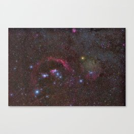 Orion constellation Canvas Print
