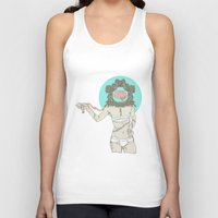 brain Tank Tops featuring Brain ! by UNCOMMON Graphic Design