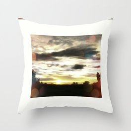 Only At Sunset Throw Pillow